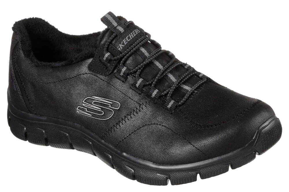 Derretido Mujer Diacrítico  Street Style Trainer Donna Skechers 12394/ BBK MEMORY 36/41 Black Other  materials